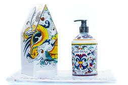NEW Italian Deruta ORANGE BLOSSOM Hand Soap, JUMBO size  Hom