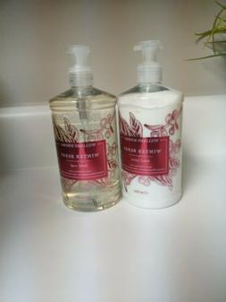 New Williams Sonoma Winter Berry Hand Soap and Lotion, 1 of