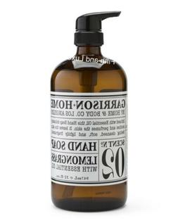 No 02 LEMONGRASS Garrison + Home & Body Co Hand Soap~32 oz~O