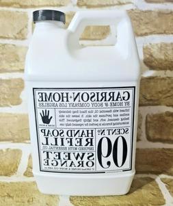 No 09 SWEET ORANGE Garrison Home & Body Co HAND SOAP REFILL