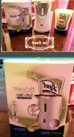 Lysol No-Touch Automatic Hand Soap Dispenser & 8.5 Oz Lysol