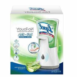 Lysol No-Touch Hand Soap Kit Dispenser & Refill Moisturizing