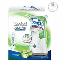 Lysol No-Touch Hand Soap Kit , Moisturizing Aloe Vitamin E,