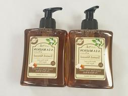 NWT A La Maison de Provence 2x10 OZ Liquid Hand Soap Toasted