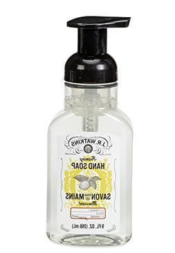 3 Packs of J.R. Watkins Foaming Lemon Hand Soap