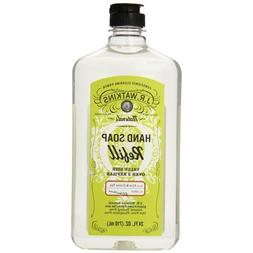 2 Packs of J.r. Watkins Liquid Hand Soap - Refill - Aloe And