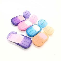 6 Packs Portable Disposable Travel Hiking Washing Hand Bath