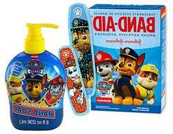 """Safety First"" PAW Patrol Band-aid Brand Bandages! Plus Bonu"