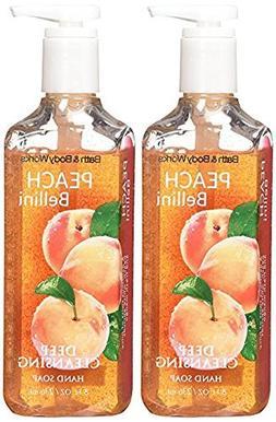 Bath & Body Works Peach Bellini Deep Cleansing Hand Soap 8 O
