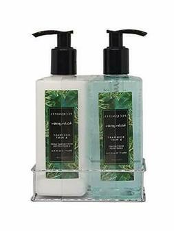 Pecksniffs Luxury Bath Gift Set, Rosemary & Mint Hand Soap a