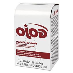 Gojo Pink and Klean Floral Skin Cleanser Dispenser Refill -