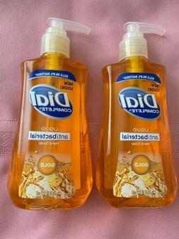 Dial Pump Liquid Hand Soap Gold 7.5 Fl Oz Lot Of 2