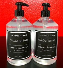 pure botanical coconut rose hand soap 21