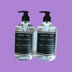Pure + Botanical COCONUT + ROSE Hand Soap 21.5 fl oz Lot of