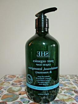 Om She Pure Organics SANDALWOOD LEMONGRASS ROSEMARY Liquid H