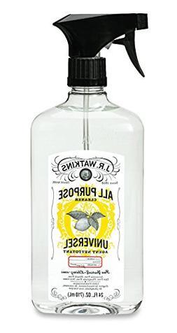 J.R. Watkins Natural All Purpose Cleaner, Lemon, 24 oz, Pack