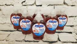 Softsoap Red White & Cherry 5.5 Oz Hand Soap Lot Of 6