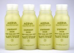 AVEDA Rosemary Mint Hand And Body Wash, 4 pack of 1.5 oz, 6