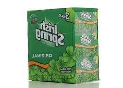 Irish Spring ORIGINAL SCENT Bar Soap for Men& Women. 12-HOU