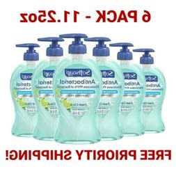Set of 6 Softsoap Antibacterial 11.25 Oz Hand Soap w/ Moistu