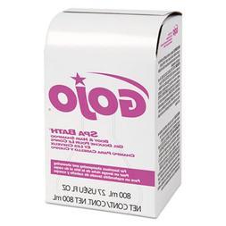 Soap and Shampoo - 800ml spa bath body and hair shampoo