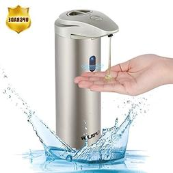 LPOLER Automatic Soap Dispenser, 330ML Touchless Stainless S