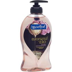 Softsoap Luminous Oils Macadamia Oil & Peony Hand Soap, 11.2