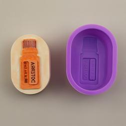 Spot wholesale single oval water bottle silica <font><b>gel<