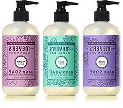 Mrs. Meyer's Spring Hand Soap Variety Pack, 1 Lilac, 1 Peony