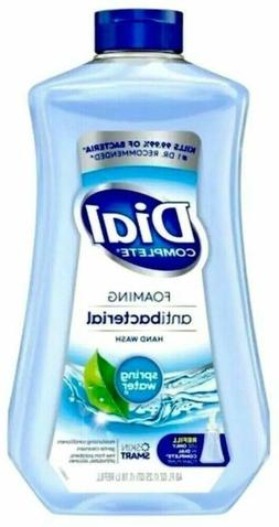 Dial Spring Water Complete Antibcterial Foaming Hand Soap Re