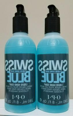swiss blue hand soaps