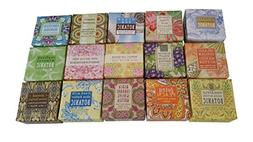 Greenwich Bay Trading Company Soap Sampler 15 pack of 1.9oz