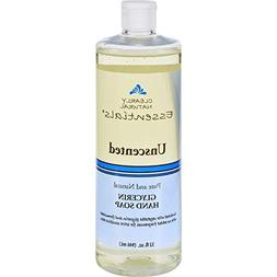 Clearly Natural Unscented Liquid Hand Soap - Refill