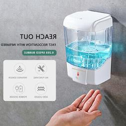US 700ML Automatic Soap Dispenser Sanitizer Hands-Free IR Se