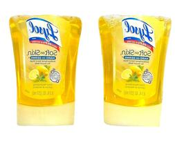 Lysol No-Touch Antibacterial Hand Soap Refills, Lemon & Verb