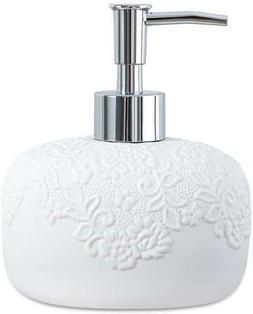 White Hand Soap Dispenser - Dish Soap Dispenser for Bathroom