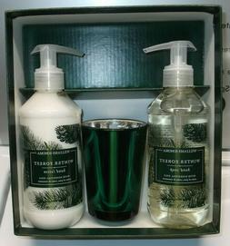 Williams Sonoma Winter Forest Guest Essentials Set Candle Ha