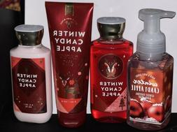 Winter Candy Apple Bath and Body Works Lotion Cream Shower G