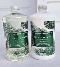 Williams Sonoma Winter Forest Hand Soap & Hand Lotion Combo