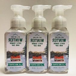 Set of 3 Bath & Body Works Winter Gentle Foaming Hand Soap 2
